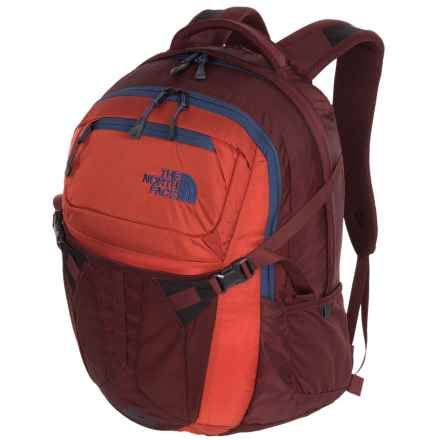The North Face Recon 31L Backpack in Tibetan Orange/Sequoia Red - Closeouts