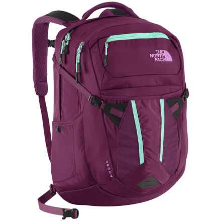The North Face Recon Backpack (For Women) in Pamplona Purple/Bonnie Blue - Closeouts