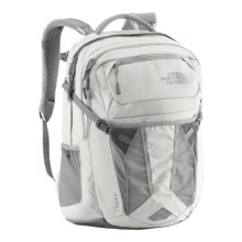 The North Face Recon Backpack (For Women) in Vaporous Grey Heather/Metallic Silver - Closeouts