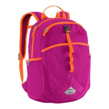 The North Face Recon Squash Backpack (For Little and Big Kids) in Luminous Pink/Shocking Orange - Closeouts
