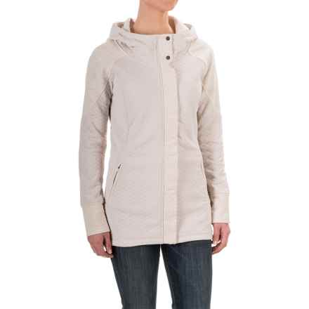 The North Face Recover-Up Jacket (For Women) in Moonlight Ivory Heather/Moonlight Ivory - Closeouts