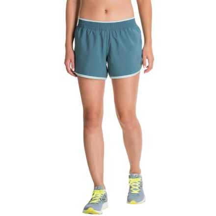 The North Face Reflex Core Running Shorts - Built-In Brief (For Women) in Tapestry Blue/Windmill Blue - Closeouts