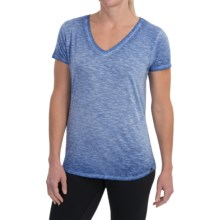 The North Face Remora T-Shirt - V-Neck, Short Sleeve (For Women) in Vintage Blue - Closeouts