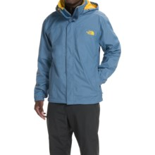 The North Face Resolve Jacket - Waterproof (For Men) in Moonlight Blue/Freesia Yellow - Closeouts
