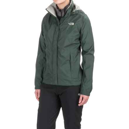 The North Face Resolve Jacket - Waterproof (For Women) in Darkest Spruce - Closeouts