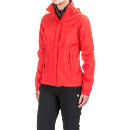 The North Face Resolve Jacket - Waterproof (For Women) in High Risk Red - Closeouts