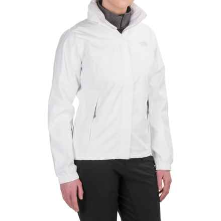 The North Face Resolve Jacket - Waterproof (For Women) in Tnf White - Closeouts