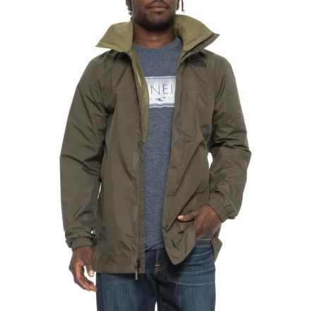 The North Face Resolve Parka - Waterproof (For Men) in New Taupe Green/Burnt Olive Green - Closeouts