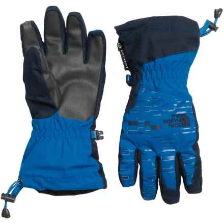 The North Face Revelstoke Etip Ski Gloves - Waterproof, Insulated, Touch-Screen Compatible (For Little and Big Kids) in Jake Blue/Cosmic Blue - Closeouts