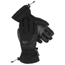 The North Face Revelstoke Etip Ski Gloves - Waterproof, Insulated, Touch-Screen Compatible (For Little and Big Kids) in Tnf Black - Closeouts