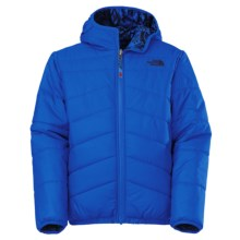 The North Face Reversible Perrito Jacket (For Little and Big Boys) in Monster Blue - Closeouts