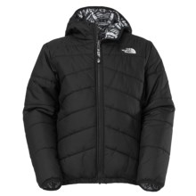 The North Face Reversible Perrito Jacket (For Little and Big Boys) in Tnf Black Multi - Closeouts