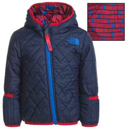 The North Face Reversible Perrito Jacket - Insulated (For Infants) in Cosmic Blue - Closeouts