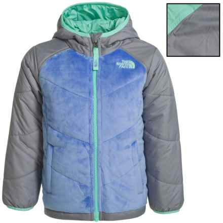 The North Face Reversible Perseus Jacket (For Toddler Girls) in Grapemist Blue - Closeouts