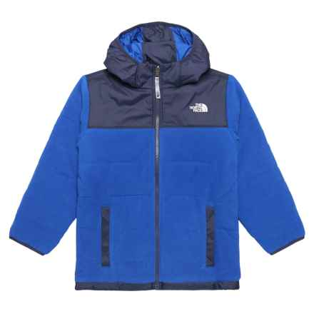 The North Face Reversible True or False Jacket - Insulated (For Little and Big Boys) in Bright Cobalt Blue - Closeouts