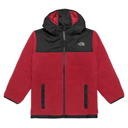 The North Face Reversible True or False Jacket - Insulated (For Little and Big Boys) in The North Face Red/The North Face Black - Closeouts