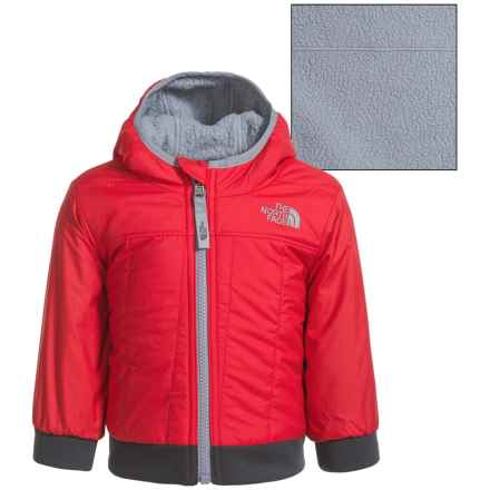 The North Face Reversible Yukon Hoodie - Insulated (For Infants) in Tnf Red - Closeouts