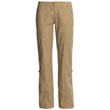 The North Face Robertson Pants - UPF 50, Roll-Up Legs (For Women) in Moab Khaki - Closeouts