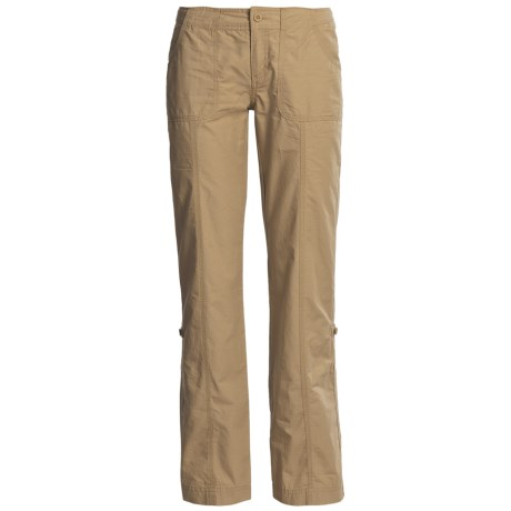 The North Face Robertson Pants - UPF 50, Roll-Up Legs (For Women) in Moab Khaki