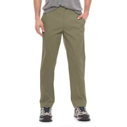 The North Face Rockaway Pants (For Men) in Burnt Olive Green - Closeouts