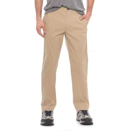 The North Face Rockaway Pants (For Men) in Safari Tan - Closeouts