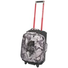 "The North Face Rolling Thunder 22"" Rolling Suitcase in Tnf Black X-Ray Print/Tnf Black - Closeouts"