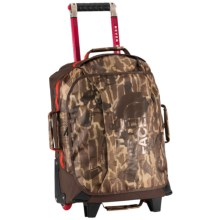 "The North Face Rolling Thunder Rolling Suitcase - 19"" in Brunette Brown Catalog Print - Closeouts"