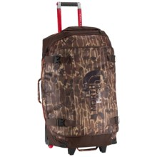 "The North Face Rolling Thunder Rolling Suitcase - 30"" in Brunette Brown Catalog Print - Closeouts"