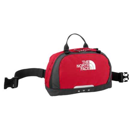 The North Face Roo Waist Pack in Tnf Red/Tnf Black - Closeouts