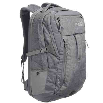 The North Face Router Backpack - 34L in Tnf Medium Grey Heather - Closeouts