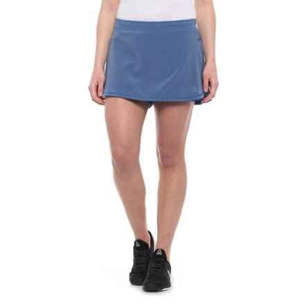 The North Face Runagade FlashDry® Skort (For Women) in Coastal Fjord Blue/Amparo Blue - Closeouts