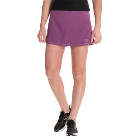 The North Face Runagade FlashDry® Skort (For Women) in Wood Violet/Sweet Violet - Closeouts