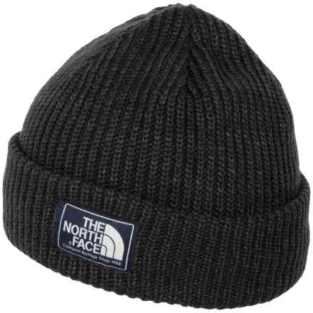 The North Face Salty Dog Beanie (For Men) in Tnf Black - Closeouts