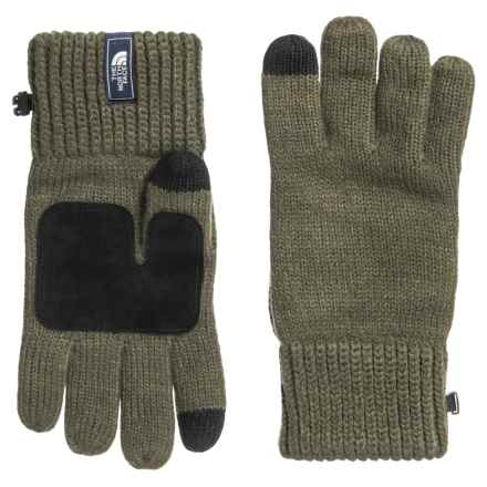 The North Face Salty Dog Etip Gloves - Touchscreen Compatible (For Men) in New Taupe Green/Brunt Olive Marl - Closeouts