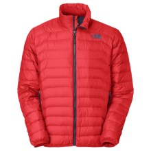 The North Face Santiago Down Jacket - 600 Fill Power (For Men) in Tnf Red - Closeouts