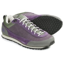 The North Face Scend Shoes - Leather (For Women) in Black Plum/Grecian Green - Closeouts