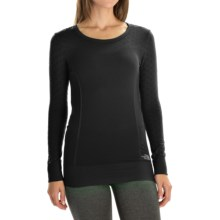 The North Face Seamless Scarlette Shirt - Long Sleeve (For Women) in Tnf Black - Closeouts