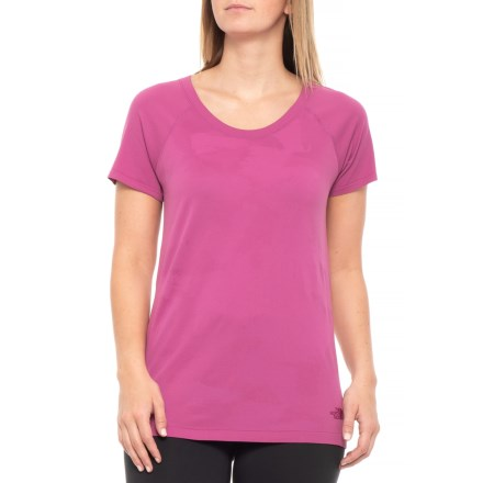 6d0acf85ae8fff The North Face Seamless Shirt - Short Sleeve (For Women) in Valley Sky  Purple