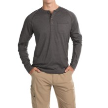 The North Face Seward Henley Shirt - Long Sleeve (For Men) in Asphalt Grey - Closeouts