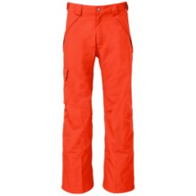The North Face Seymore Ski Pants - Waterproof (For Men) in Acrylic Orange - Closeouts