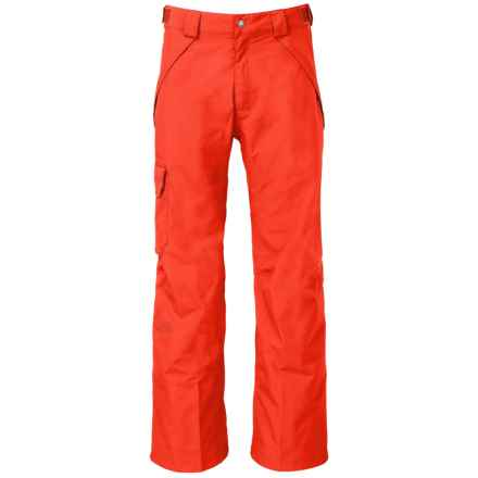The North Face Seymore Ski Pants - Waterproof (For Men) in Fiery Red - Closeouts