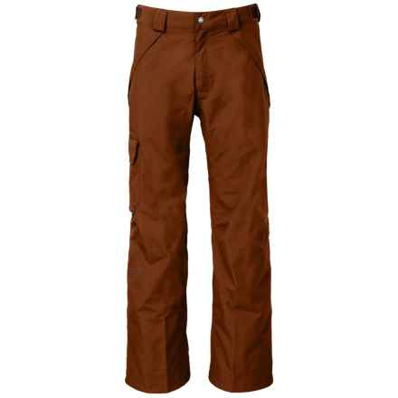 The North Face Seymore Ski Pants - Waterproof (For Men) in Gingerbread Brown - Closeouts