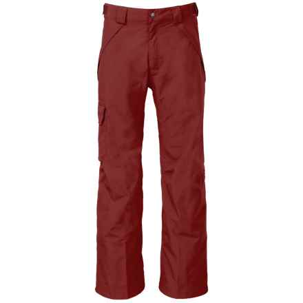 The North Face Seymore Ski Pants - Waterproof (For Men) in Hot Chocolate Brown - Closeouts