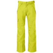 The North Face Seymore Ski Pants - Waterproof (For Men) in Venom Yellow - Closeouts