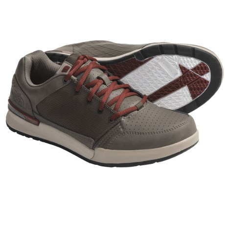 The North Face Shifter Shoes (For Men) in Weimaraner Brown/Monarch Orange