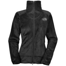 The North Face Shiso Jacket - Fleece (For Women) in Tnf Black - Closeouts