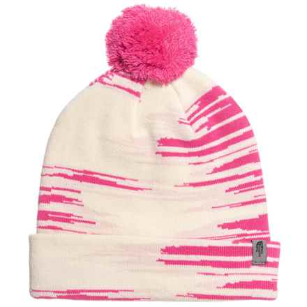 The North Face Ski Tuke Beanie (For Little and Big Kids) in Petticoat Pink 8f66f0fc3a58
