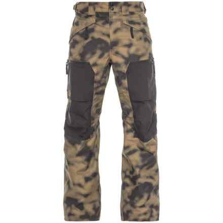 The North Face Slashback Cargo Ski Pants - Waterproof (For Men) in Mltyolblrp/Tnf Black - Closeouts