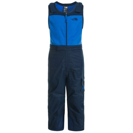 The North Face Snow Bibs - Waterproof, Insulated (For Toddlers) in Cosmic Blue