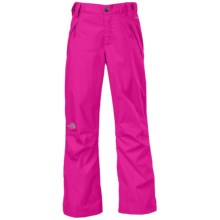The North Face Snowquest Triclimate® Pants - Waterproof, Insulated, 3-in-1 (For Little and Big Girls) in Luminous Pink - Closeouts